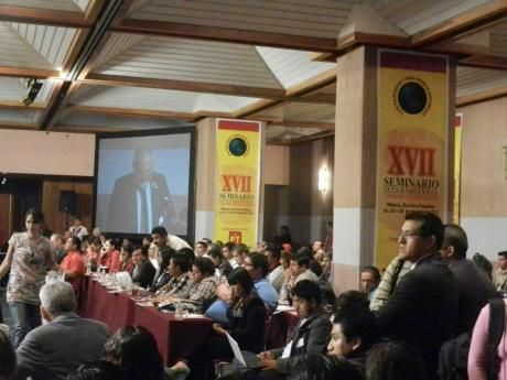 Asistentes al Seminario del PT. Foto: Valentina Rodríguez.