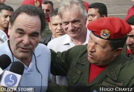 Oliver Stone, Director de cine de EUA era amigo de Hugo Chávez.