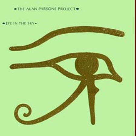 El ojo de Alan Parsons en 1982.