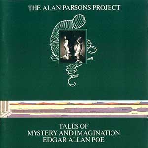 El album dedicado a Edgar Allan Poe en 1976.