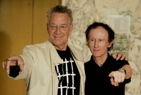 Ray Manzarek (teclados) & Robby Krieger (guitarra) fundadores de The Doors. En México.