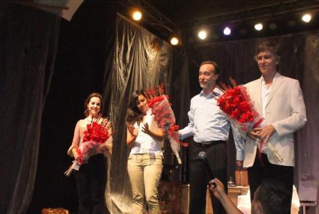 Marina de Tavira y Rafael Sánchez Navarro, actores geniales en Jornadas.