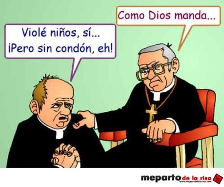 Iglesia católica destructora.