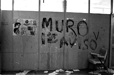 El MURO grupo represor de jóvenes estudiantes en 1968. Foto: Armando Salgado.