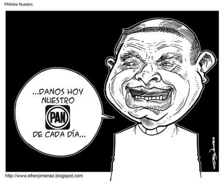 El PAN brazo político de la Iglesia católica.