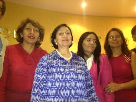 La ex Gobernadora de Zacatecas: Amalia García del Foro Nuevo Sol.