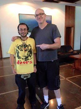 Ty Dennis con Sergio Lugo.