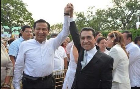 Lázaro Mazón apoyó a José Luís Abarca para la Presidencia de Iguala. Son amigos desde hace muchos años. Foto tomada de Internet.
