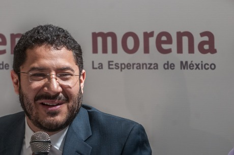 Martí Batres, congruencia de Izquierda, desde el PSUM. Foto: Internet.