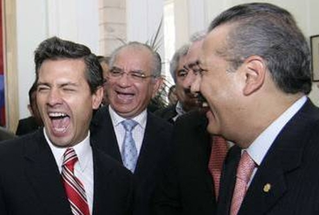 Los capos bien felices, ¿por qué será? Imagen tomada de Internet.